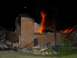 Fire destroys Gargett home