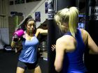 Trainer Christy Cotroneo. Crossfit training at Fighting Fit . Photo Nev Madsen / The Chronicle