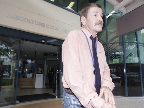 RSPCA spokesman Michael Beatty in front of the Caboolture Magistrates Court. Photo Vicki Wood / Caboolture News