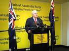 Palmer United Party leaders Live Blog live now