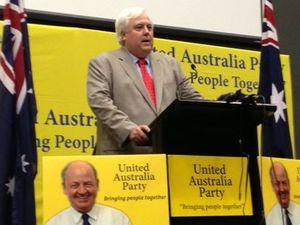 Clive Palmer attacks Ted O'Brien