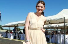 Alessia Foglia has taken out the NewsMail's people's choice for most stylish race goer at the AustSafe races.