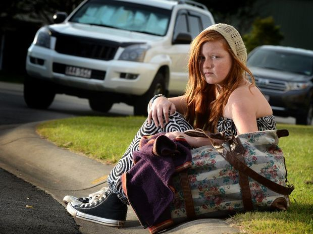 Xavier Lane,12, is left stranded after Jetstar would not allow her to fly.