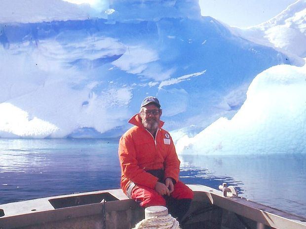 Ian Jacobsen on one of the two expeditions he's taken to Antarctica.