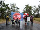 Gas protestors stand their ground despite shots being fired
