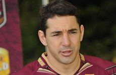 Billy Slater... could see the lighter side of streaker.