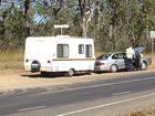 Car towing caravan involved in crash near Torbanlea