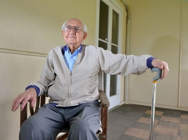 99 year old Stan Le Feuvre from Caboolture is handing in his drivers licence after being on the road for 78 years.