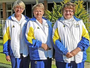Nail-biting win at women's bowls triple