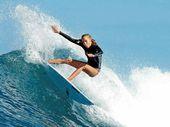 SUNSHINE Coast coach Brad Lee rates Isabella Nichols a realistic chance of winning the under-16 ISA World Junior Surfing Championship.