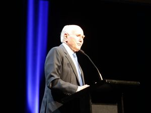 John Howard on Tony Abbott