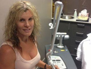 Gaye Tregaskis of Mooloolaba's Coastal Skin Clinic.