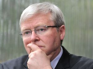 Rudd yet to name date for Aussies to head to polls