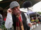 Maryborough's market day livened up by Poppins characters