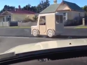 Pimped out mobility scooter in New Zealand
