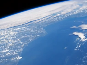 Time-lapse video of earth from space