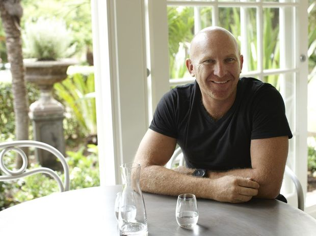 NOW YOUR COOKING: Celebrity chef Matt Moran will be at the Byron Farmers' Market next Thursdayto source local produce for his new TV show. Photo Contributed