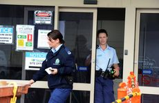 Break in at Service NSW office in South Tweed. Police at the scene.