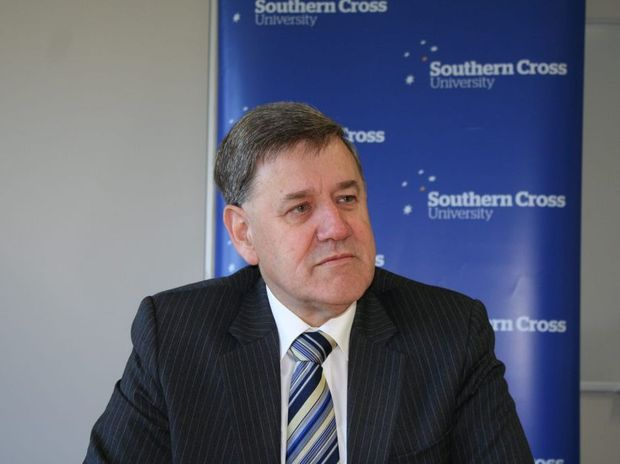 SCU vice-chancellor Peter Lee
