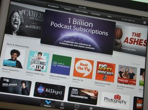 Apple celebrates 1 billion podcast subscriptions