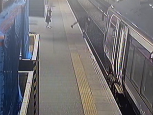 Incredible CCTV of accidents at UK railway stations