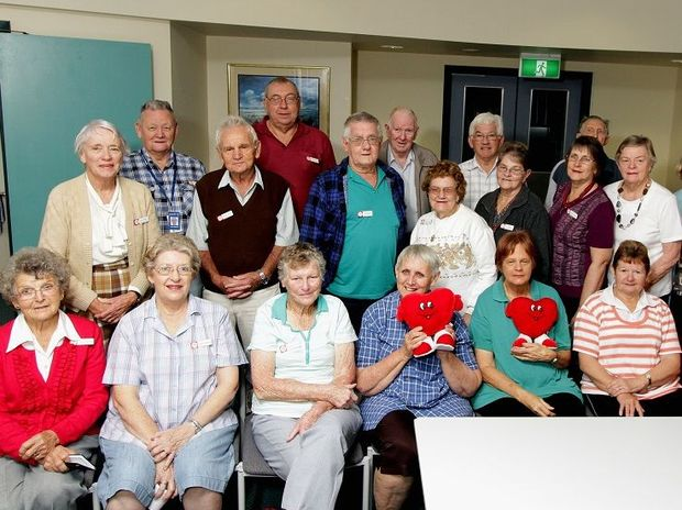 Members of the Maryborough Heart Support Group.