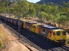 Coal train derails, blocks rail line east of Toowoomba