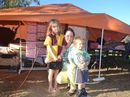 SINGLE mother Belinda Yule and her children are living in a tent at the Chinchilla Showgrounds after being unable to find an affordable home to rent in town.
