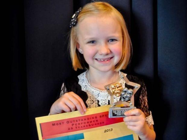Seven Year Old Wins Best Speech Performer Overall Fraser