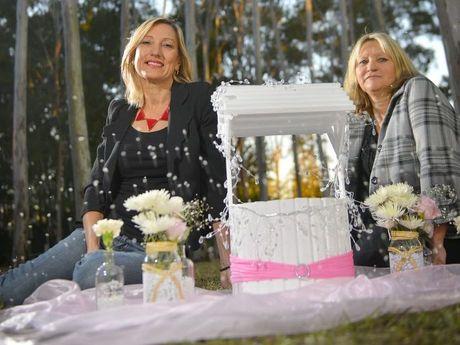 Rachael Ward and Karen Porter run Krystal Rose Event Planning in Gladstone.