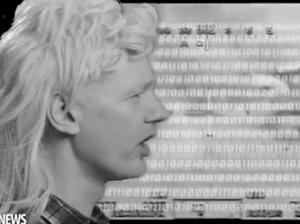 Julian Assange impersonates John Farnham