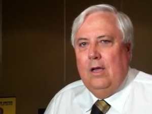 Clive Palmer announces ethanol policy