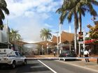 A fire at the Rivers store brought Coffs Harbour city centre to a standstill.