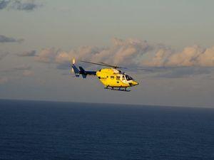 Winch rescue near Fraser Island