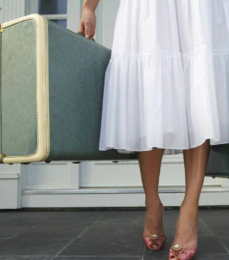 I'm leaving the heels and vintage luggage at home in favour of practicality.