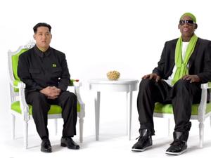 Dennis Rodman appears in nuts TVC with 'Kim Jong-un'