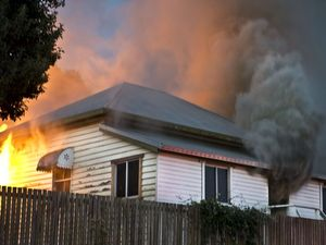 North Toowoomba house fire