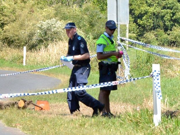 Cedar Pocket murder scene. Photo Tanya Easterby / The Gympie Times