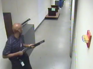 CCTV footage of Washington Navy Yard gunman