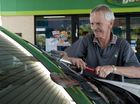 Frank Lyndon provides full driveway service to customers of the BP on Bridge and Mary St, Tuesday, October 01, 2013. Photo Kevin Farmer / The Chronicle