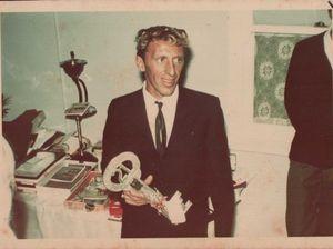 Geoff's 21st birthday in 1967.
