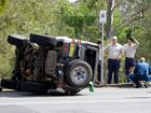 Two cars were involved in a traffic crash on the corner of Pound and Moffatt Street in West Ipswich on Wednesday afternoon.
