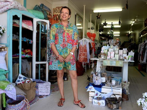 Cancer survivor Julie Strange at Tugun Family Jewels.