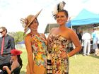 Emma Price and Taylor Butcher at the Melbourne Cup race day lunch. Photo Mike Richards / The Observer