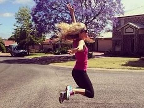 Samantha Galligan's the_healthy_me Instagram account has more than 69,000 followers