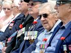 veterans wearing their medals with pride. Photo: Blainey Woodham / Daily News