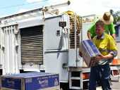 IT WAS a long, dry weekend for Camira residents after a burst water pipe left dozens of households without water during one of the hottest days of the year.