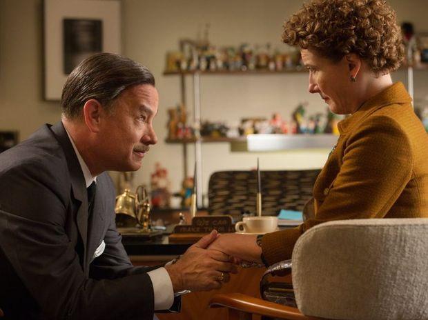 Tom Hanks and Emma Thompson in Disney's Saving Mr Banks.