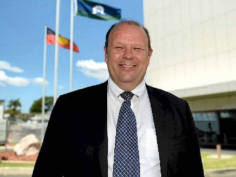 NEW FACE: Central Queensland Health chief executive Len Richards.