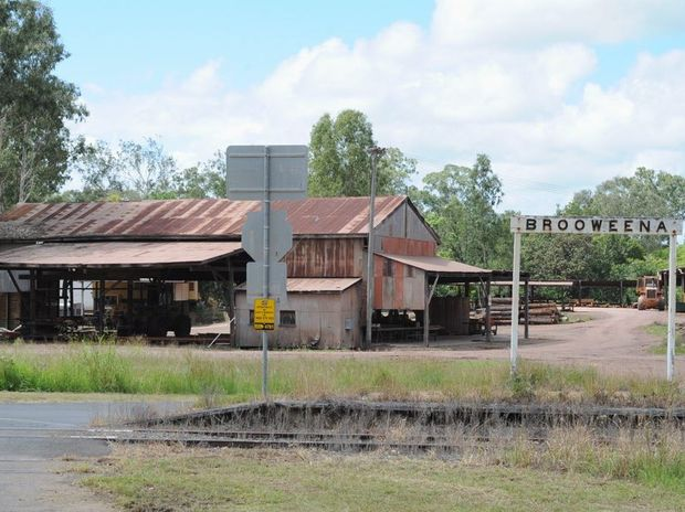 The Brooweena sawmill's owners, Robertson Bros, are understood to be examining all options for the mill's future.